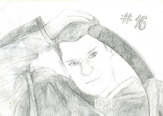 Рисунок Виктории Стовпец (14 лет), победителя в старшей возрастной группе