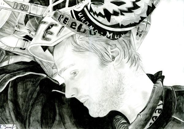 Рисунок Яны Крупской (13 лет), победителя в старшей возрастной группе